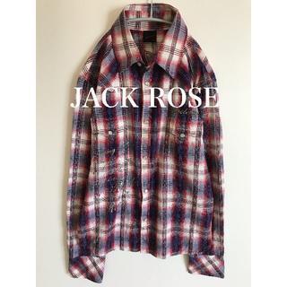 ジャックローズ(JACKROSE)のJACK ROSE ジャックローズ 長袖シャツ L(シャツ)