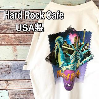 ハードロックカフェ ニューヨーク USA製 90s ビッグシルエット Tシャツ
