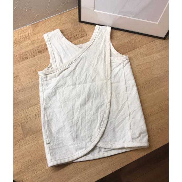 Ron Herman(ロンハーマン)の一度のみ着用 VERY掲載 bacabucheバッククロストップス キッズ/ベビー/マタニティのキッズ服 女の子用(90cm~)(Tシャツ/カットソー)の商品写真