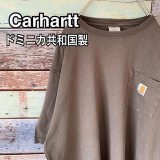 carhartt - カーハート 90s ビッグシルエット ロゴ ポケットTシャツ L