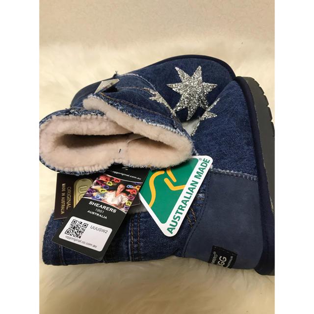 UGG(アグ)の新入荷★超レア オーストラリア産 SHEARERS UGG デニムムートンブーツ レディースの靴/シューズ(ブーツ)の商品写真