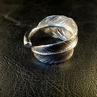 """フェザー""""Feather"""" リング SV925 Diamond""""ダイヤモンド""""(リング(指輪))"""