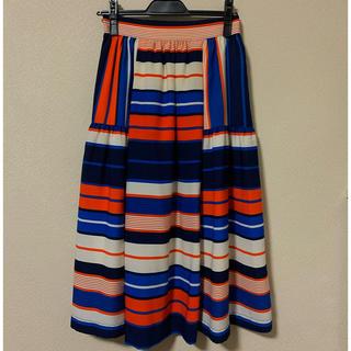ローズバッド(ROSE BUD)の美品 ROSEBUD スカート(ひざ丈スカート)
