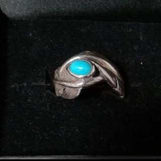 ALZUNI ターコイズ入り925シルバーリング(リング(指輪))