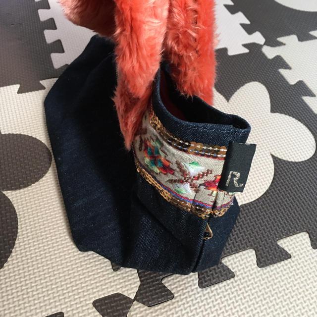 ROOTOTE(ルートート)のROOTOTE  ファー×デニム レディースのバッグ(トートバッグ)の商品写真
