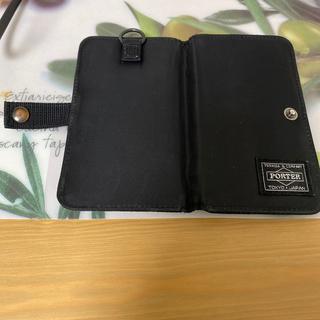 ポーター(PORTER)の手帳型携帯ケース(iPhoneケース)