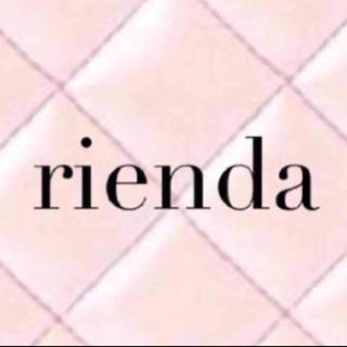 リエンダ(rienda)のrienda チェックスリムJ/W PT xs ネイビー(カジュアルパンツ)