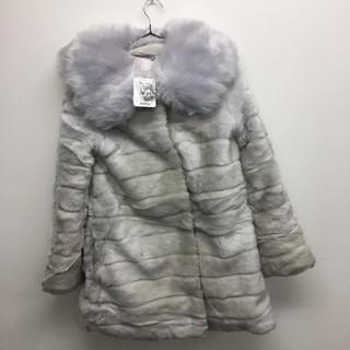 リズリサ(LIZ LISA)のファーコート グレー LIZ LISA 新品  定価¥15180(毛皮/ファーコート)
