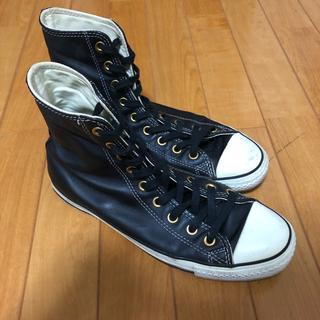 コンバース(CONVERSE)のconverse ハイカットレザーブーツ 26.5cm(ブーツ)