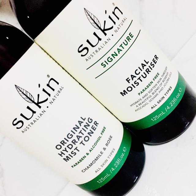 Cosme Kitchen(コスメキッチン)の【新品】Sukin スキン オーガニック 化粧水/乳液セット コスメ/美容のスキンケア/基礎化粧品(乳液 / ミルク)の商品写真