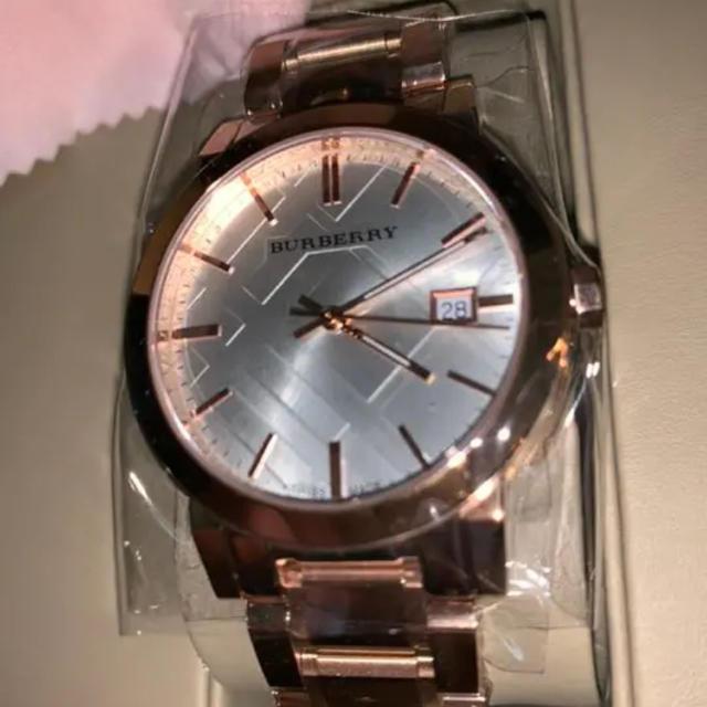 BURBERRY - バーバリーローズゴールド時計(bu9004)の通販