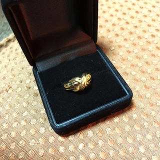 Tiffany & Co. - ティファニー k18 シグネチャークロスリング 約5.4g 10号