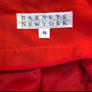 バーニーズニューヨーク(BARNEYS NEW YORK)のバーニーズの真っ赤のふんわりスカート♡(ひざ丈スカート)