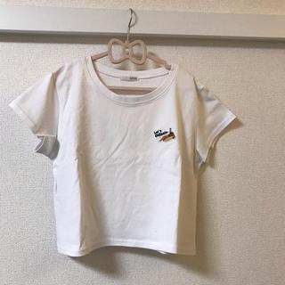 ジェイダ(GYDA)のGYDA白Tシャツ最終価格(Tシャツ(半袖/袖なし))