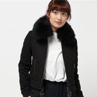 グレースコンチネンタル♡ラムファーキルティングジャケット