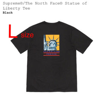 Supreme - 【L】Supreme × The North Face Tee ブラック