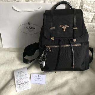 PRADA - プラダ リュック 黒 ブラック