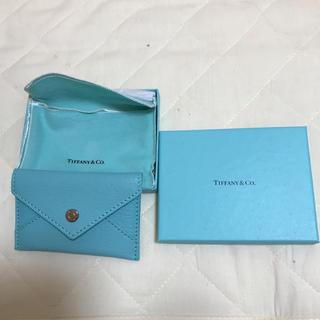 ティファニー(Tiffany & Co.)のティファニー Tiffany エンベロープ カードケース 名刺入れ(名刺入れ/定期入れ)