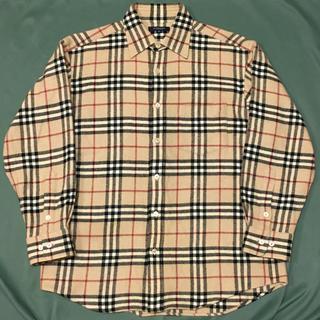 BURBERRY - 希少 90's BURBERRY LONDON ノバチェック ウールシャツ