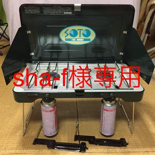 シンフジパートナー(新富士バーナー)の【CB缶】SOTO ツーバーナー ST-501 ブースター付き ガス 中古品 (ストーブ/コンロ)
