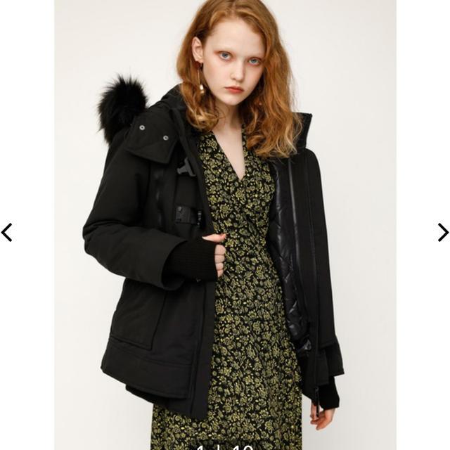SLY(スライ)の@美品@SLY♡ボリュームファー付きN3Bジャケットコート レディースのジャケット/アウター(モッズコート)の商品写真