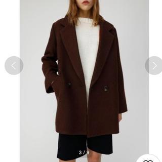 マウジー(moussy)のmoussy MIDDLE LENGTH CHECK COAT(テーラードジャケット)