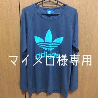 アディダス(adidas)の新品未使用 adidas オリジナル ロゴ ロンT(Tシャツ(長袖/七分))