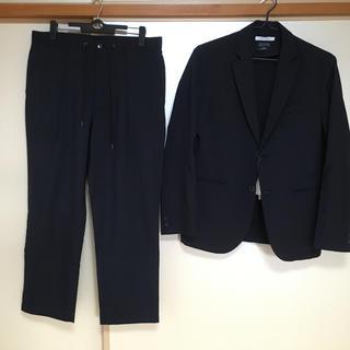 ジャーナルスタンダード(JOURNAL STANDARD)の【SOLOTEX】TW TRO ネイビー ジャケット パンツ セット スーツ(セットアップ)