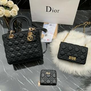 Dior - DIOR ハンドバッグ ショルダーバッグ 財布 3点セット 大人気