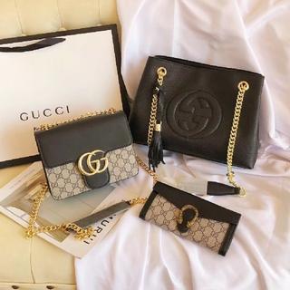 Gucci - Gucci 大人気 ショルダーバッグ 長財布 3点セット 美品