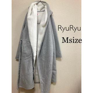 リュリュ(RyuRyu)のMサイズ RyuRyu⭐️新品⭐️ボアコート グレー(その他)