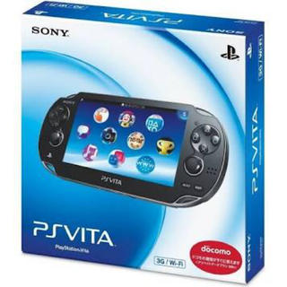PlayStation Vita - ps vita 1000 3g wifi モデル