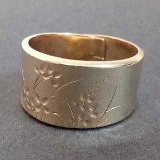 金純刻印 ヴィンテージゴールドリング(リング(指輪))
