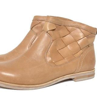 ■pied du lapan■size38 short boots(ブーツ)