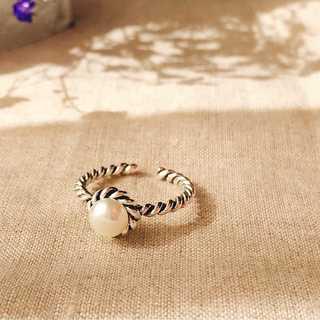 シルバーリング ホワイトパール S925   *ARN010-SR00(リング(指輪))