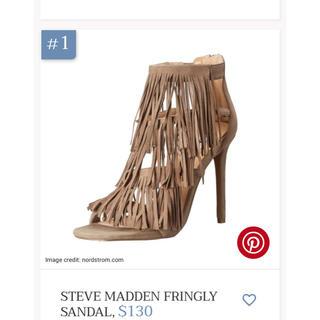 スティーブマデン(Steve Madden)のsteve madden fringe stilettos スティーブ マデン(ハイヒール/パンプス)