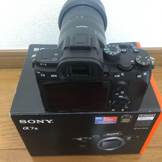 SONY(ソニー)のSONY α7iii 本体 TAMRON レンズセット 限定週末価格 スマホ/家電/カメラのカメラ(ミラーレス一眼)の商品写真