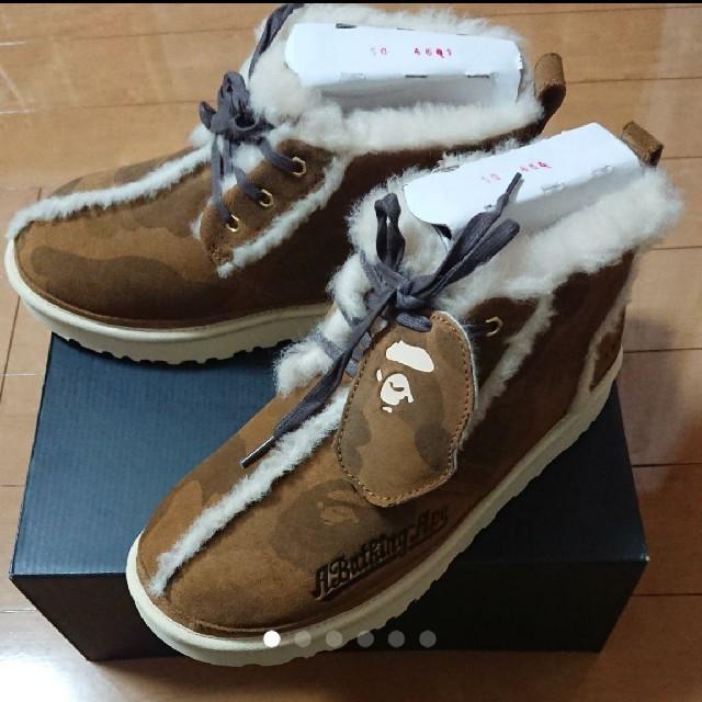 A BATHING APE(アベイシングエイプ)の送料込み 完売品 UGG × BAPE NEUMEL 28cm メンズの靴/シューズ(ブーツ)の商品写真