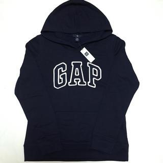 GAP - 新品 定価4900円 ギャップ 裏起毛 ロゴ入り パーカー M レディース
