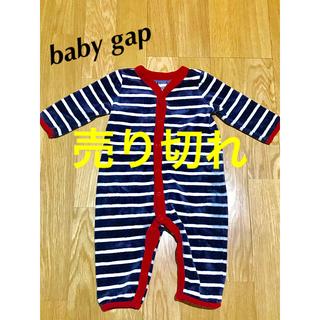 babyGAP - 【baby gap】 ロンパース  ベロア生地 サイズ60
