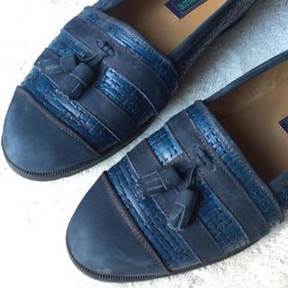 80s国産!2種本革!タッセルローファー(ローファー/革靴)