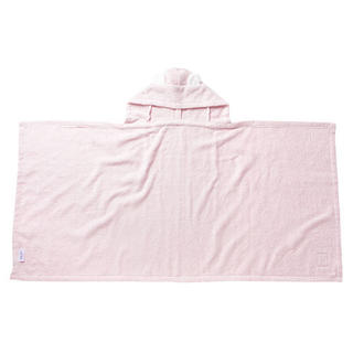 familiar - ファミリア ポンチョ型バスタオル