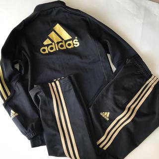 adidas - adidas アディダス ゴールドロゴ☆ジャージ上 下 140