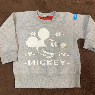 ミッキーマウス(ミッキーマウス)の美品☆ディズニートレーナー(Tシャツ/カットソー)
