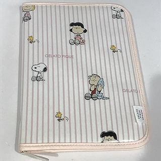 gelato pique - 【PEANUTS】ストライプ母子手帳ケース/ジェラートピケ  ピンク