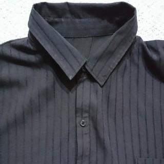 ロペピクニック(Rope' Picnic)のROPE PICNICネイビーストライプロングシャツ(シャツ/ブラウス(長袖/七分))