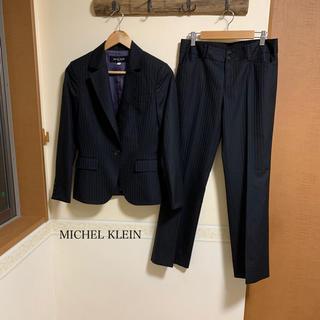 MICHEL KLEIN - MICHEL KLEIN レディース パンツスーツ サイズL