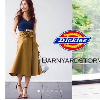 バンヤードストーム(BARNYARDSTORM)のバンヤードストーム ディッキーズコラボ スカート(ひざ丈スカート)