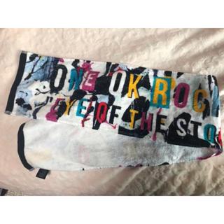 ワンオクロック(ONE OK ROCK)のONE OK ROCK マフラータオル(ミュージシャン)