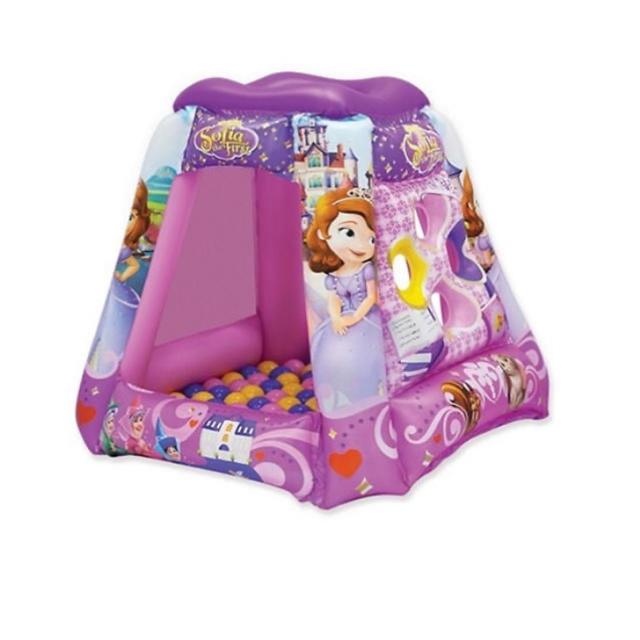 Disney(ディズニー)のディズニー プリンセスソフィア プレイランド ボールプール キッズ/ベビー/マタニティの寝具/家具(ベビーサークル)の商品写真